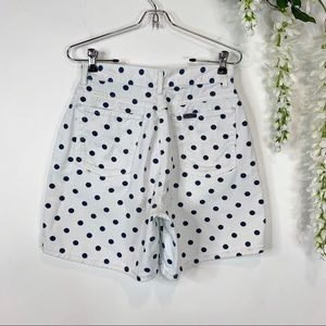 chic Shorts - CHIC vintage high waist dotted mom shorts 1104
